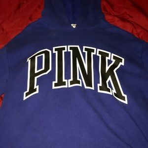 Victoria secret pink crop hoodie.